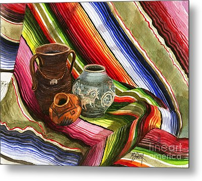 Southwest Still Life Metal Print