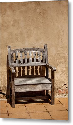 Southwestern Bench Metal Print by Art Block Collections