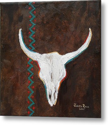 Metal Print featuring the painting Southwestern Influence by Judith Rhue