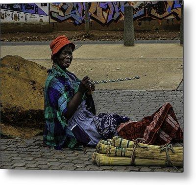 Soweto Artist Metal Print