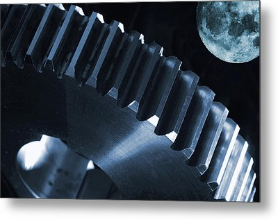 Space And Engineering Concept Metal Print by Christian Lagereek