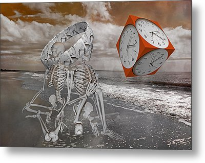 Space And Time Metal Print