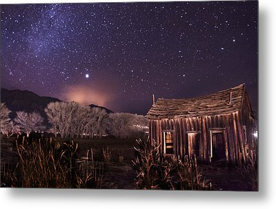 Space And Time Metal Print by Cat Connor