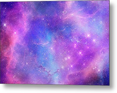 Space Art Metal Print by Carol & Mike Werner