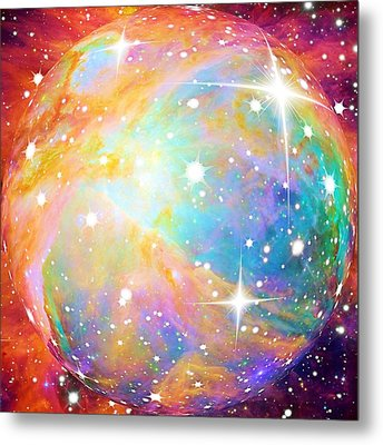 Metal Print featuring the photograph Space by Elizabeth Budd