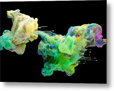 Space Romance - Abstract Photography Art Metal Print by Modern Art Prints