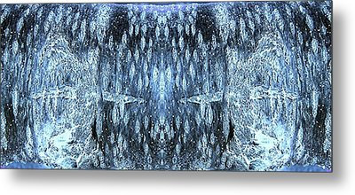 Metal Print featuring the digital art Space Sentinels by Stephanie Grant