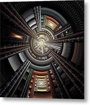 Space Station Metal Print by Anastasiya Malakhova