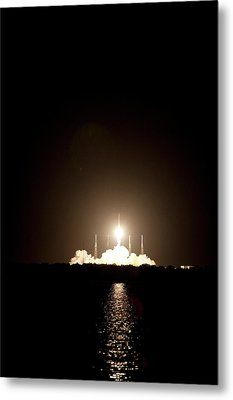 Spacex Crs-1 Launch Metal Print by Nasa