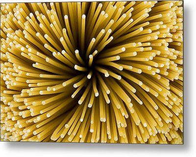 Spaghetti Noodles Metal Print by Joe Belanger