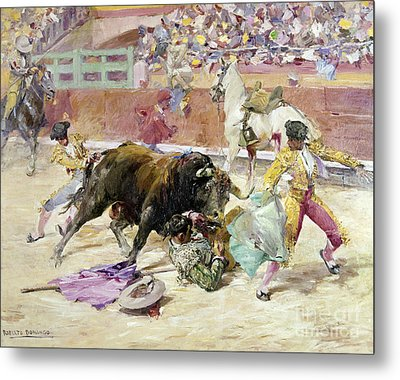 Spain - Bullfight C1900 Metal Print by Granger