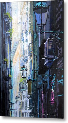 Spain Series 06 Barcelona Metal Print