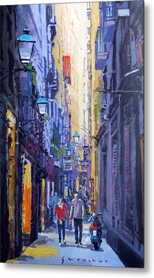 Spain Series 10 Barcelona Metal Print