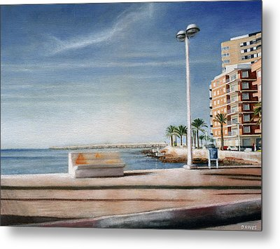 Spanish Coast Metal Print
