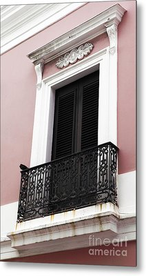 Spanish Colonialism Architecture Metal Print by John Rizzuto