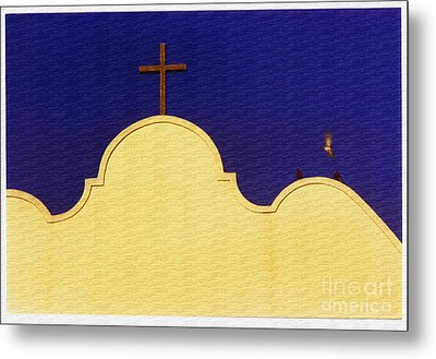 Metal Print featuring the photograph Spanish Mission by Susan Parish