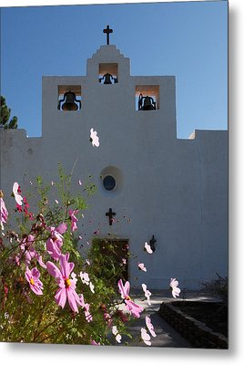 Metal Print featuring the photograph Spanish Mission by Susan Rovira