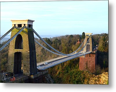 Spanning The Gorge Metal Print
