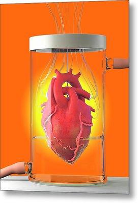 Spare Heart Metal Print by Tim Vernon