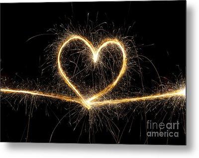 Spark Of Love Metal Print by Tim Gainey