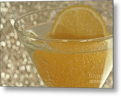 Sparkling Citrus Moments Metal Print by Inspired Nature Photography Fine Art Photography