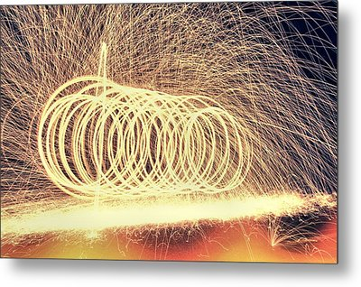 Sparks Metal Print by Dan Sproul