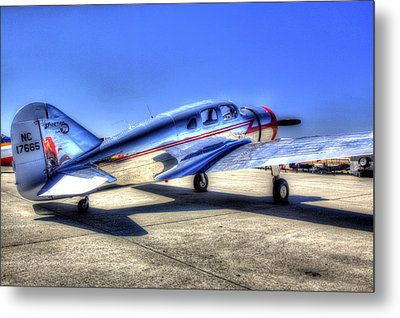 Sparten Executive At Hollister Airshow Metal Print