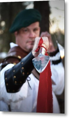 Spear Of The Scot Metal Print by Tara Potts