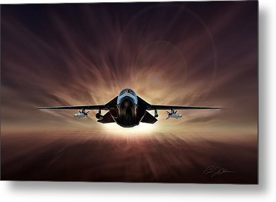 Special Delivery F-111 Metal Print by Peter Chilelli