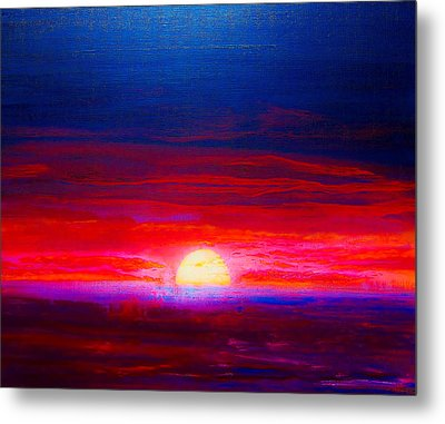 Special Sunset 2008 Metal Print
