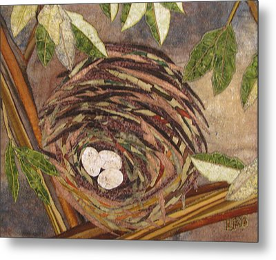 Speckled Eggs Metal Print by Lynda K Boardman