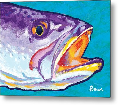 Speckled Trout Colors Metal Print by Kevin Putman