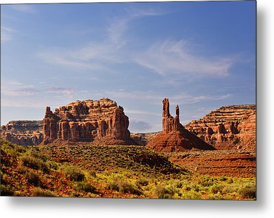 Spectacular Valley Of The Gods Metal Print