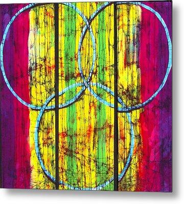 Spectrum Metal Print by Kay Shaffer