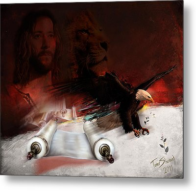 Speed In The Spirit Metal Print by Tamer and Cindy Elsharouni