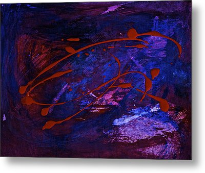 Metal Print featuring the painting Speed by Tracey Myers