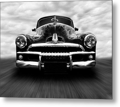 Metal Print featuring the photograph Speeding Fj Holden by Keith Hawley