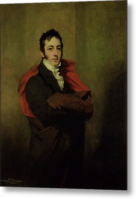 Spencer, 2nd Marquess Of Northampton, 1821 Metal Print