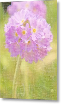 Sphere Florale - 01tt01a Metal Print by Variance Collections