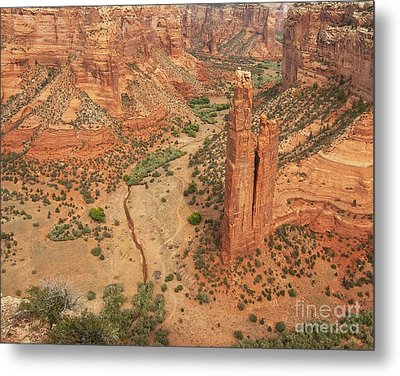 Spider Rock Metal Print by Bob and Nancy Kendrick