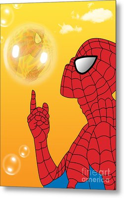 Spiderman 3 Metal Print