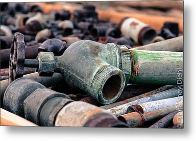 Spigots And Pipes Metal Print