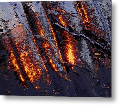 Spiking 3 Metal Print