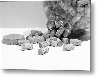 Spill The Corks Metal Print
