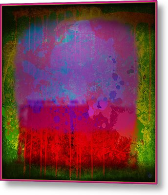 Spills And Drips Metal Print by Gary Grayson