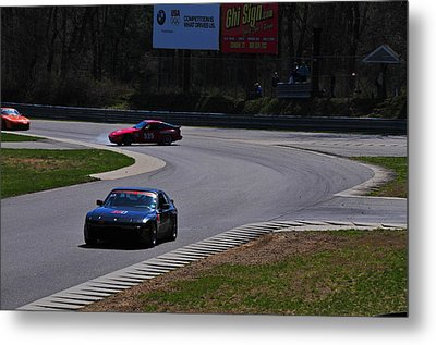 Spin Out Metal Print by Mike Martin