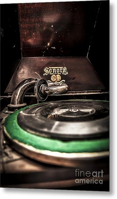 Spin That Record Metal Print