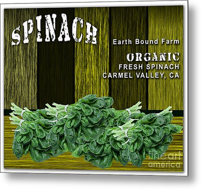 Spinach Patch Metal Print by Marvin Blaine