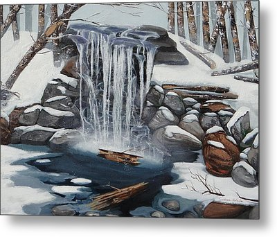 Sping Summer Fall Winter Metal Print by Susan Roberts
