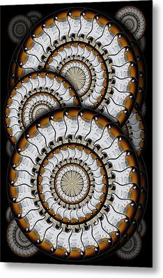 Spinning Guitars 3  Metal Print by Mike McGlothlen